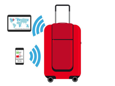 Smart-Luggage_2_Industrial-Strength-401x300 Mai più bagagli smarriti, grazie agli smart tracker